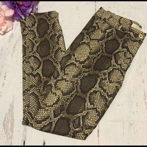 Trendy!Michael Kors Women's snake skin print pants